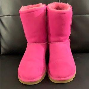 Hot pink ugg
